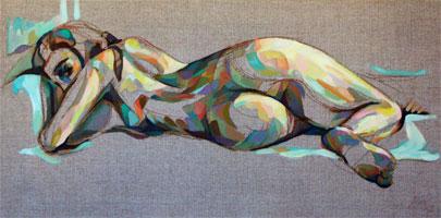 PEINTURES, les tableaux et les oeuvres : nus, paysages, portraits